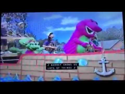 Opening & Closing To Barney's Musical Scrapbook 2000 VHS