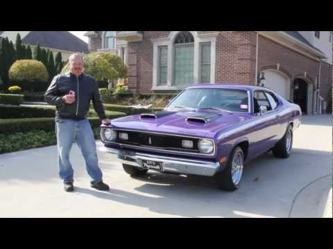 1972 plymouth duster classic muscle for Vanguard motors plymouth michigan