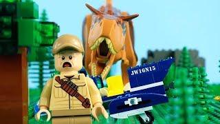 Video LEGO Jurassic World STOP MOTION LEGO Helicopter Building | LEGO Carnotaurus Attack | Billy Bricks MP3, 3GP, MP4, WEBM, AVI, FLV Februari 2019