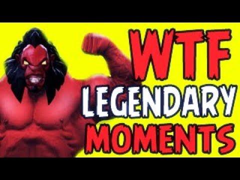 Dota 2 WTF 1 Hour Legendary Compilation