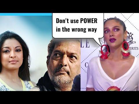 Aditi Rao Hydari Strong Reaction On Tanushree Dutt