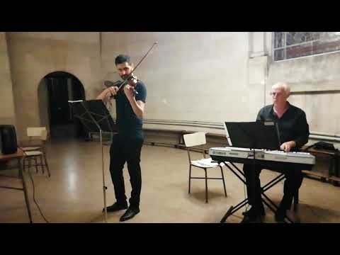 Violín y piano para ceremonias