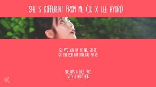 Video IU x Lee Hyori - She's Different from Me (easy lyrics) MP3, 3GP, MP4, WEBM, AVI, FLV Mei 2018