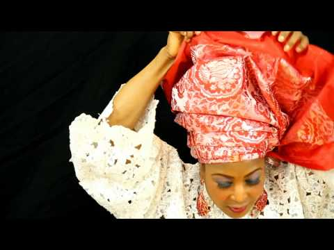 HOW TO TIE FULL AFRICAN HEADTIE & WRAPPER TUTORIAL (GELE AND WRAPPER)