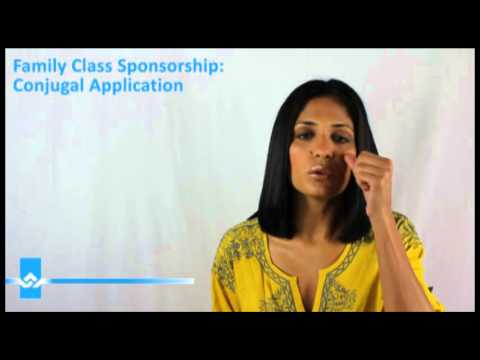 Filing a Conjugal Sponsorship Application Video