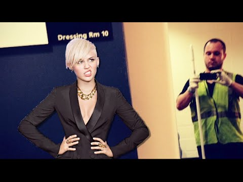 miley - Crazy Fan Confronts Miley Cyrus Backstage! Subscribe to Hollywire   http://bit.ly/Sub2HotMinute Send Chelsea a Tweet!   http://bit.ly/TweetChelsea Follow Hollywire!   http://bit.ly/TweetHollywire...