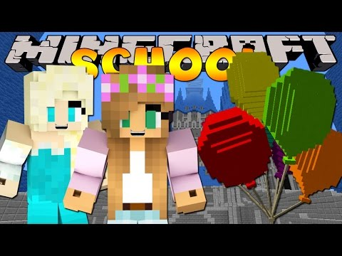 Minecraft School : LITTLE KELLY BIRTHDAY PARTY!
