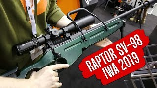 IWA 2019 - Gunfire. Raptor Airsoft SV-98