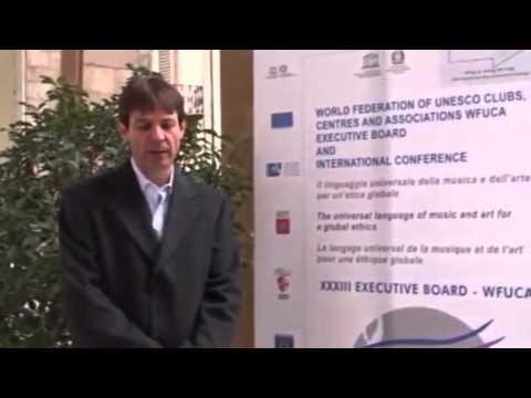 Presidente da FUNVIC participa de reunião da UNESCO na Itália