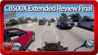3. 2018 Honda CB500X Extended Review Part 5