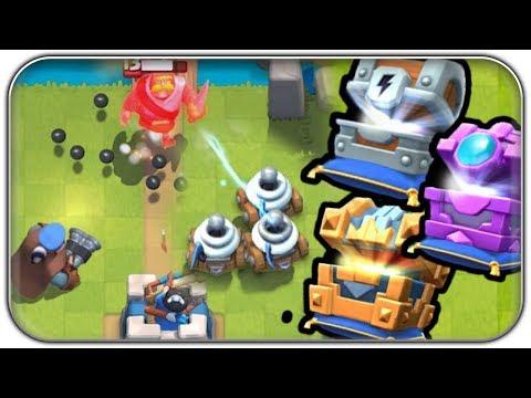 So sehen die NEUEN Karten aus! | Clash Royale Dezember Update News Deutsch German (видео)