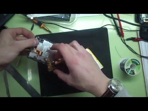 Sony Xperia ZL(C6503) не заряжается, не включается. Ремонт батареи (видео)
