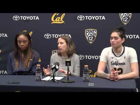 Cal Women's Basketball: Washington Post-game (1/12/18)
