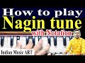 Nagin tune play on Harmonium नागिन धुन