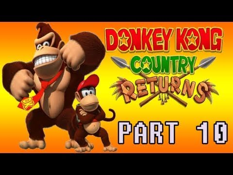 preview-Donkey Kong Country Returns (Wii) Part 10 (Kwings)