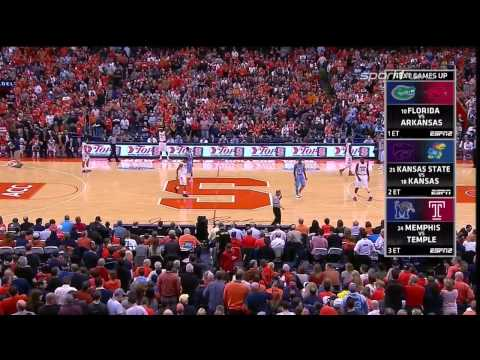 CBB 13/14 North Carolina Tar Heels vs #2 Syracuse Orange 01/11/14 (Full Game)