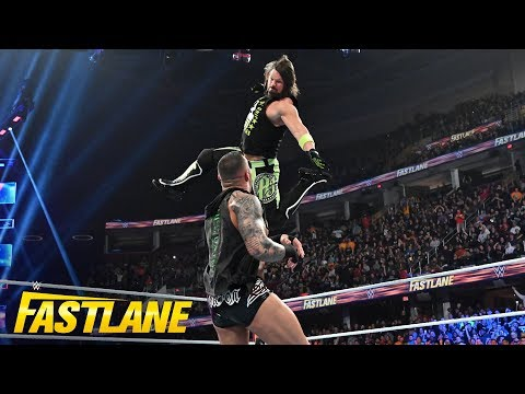 AJ Styles attacks Randy Orton after The Viper RKOs Elias: WWE Fastlane 2019 (WWE Network Exclusive)