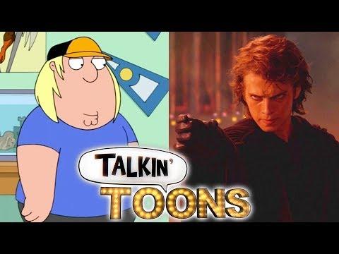 Seth Green voicing Anakin Skywalker.