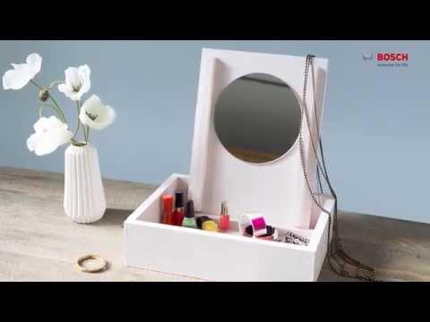 Project Tutorial: Make-Up-Aufbewahrungsbox/ Schmuckbox selber bauen