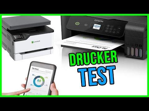 DRUCKER TEST 2021 🖨️ Die besten Multifunktionsdrucker im Vergleich