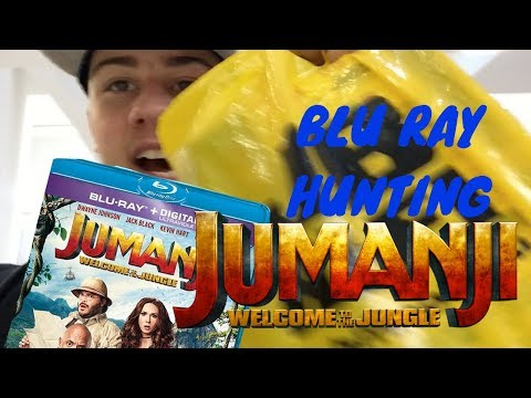 Blu ray Hunting: Jumanji Welcome To The Jungle & Other Movies