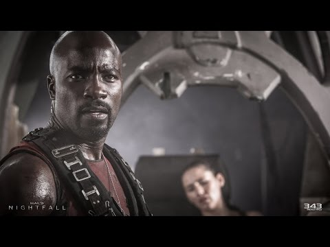 At - Mike Colter is about about to become the human face of Halo: Nightfall and Halo 5: Guardians. No pressure.