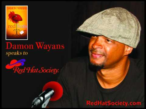 Red Hat Society Interviews Actor/Comedian/Author, Damon Wayans