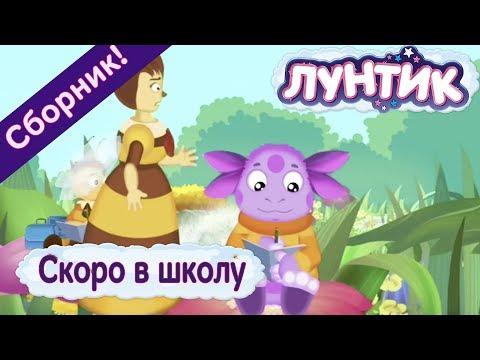 Лунтик - Лучшие серии о школе к 1 сентября! (видео)