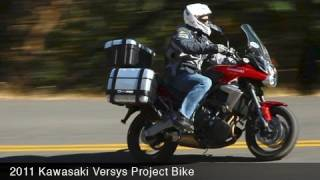 1. MotoUSA 2011 Kawasaki Versys Project Bike
