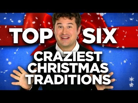 The Six Craziest Christmas Traditions
