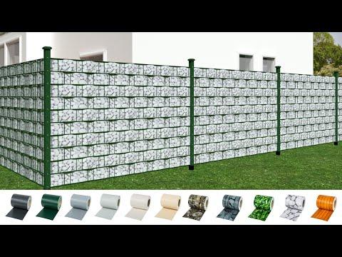 TecTak - Garden fence screening privacy shade