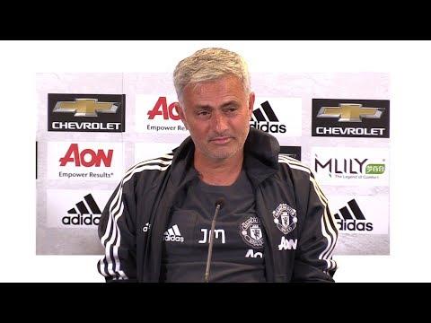 Manchester United 2-1 Sampdoria - Jose Mourinho Post Match Press Conference (видео)