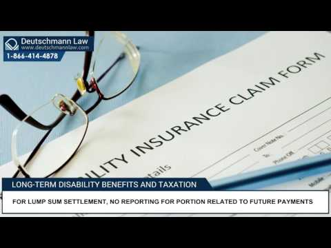 Long-term Disability Benefits and Taxation