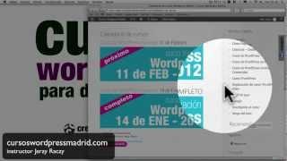 curso completo de WordPress