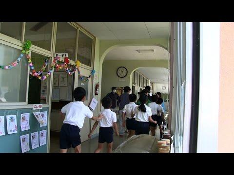 種子島の学校活動:上西小学校不審者侵入防犯訓練ダイジェスト