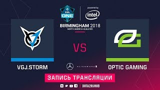 VGJ.Storm vs OpTic, ESL One Birmingham NA qual, game 2 [LighTofHeaveN]