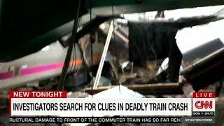 NJ Train crash: focus on data, engineer