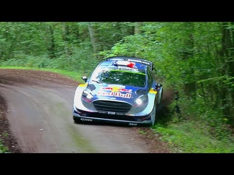 WRC Rallye Deutschland 2017 | Shakedown | Almost Ogier Crash
