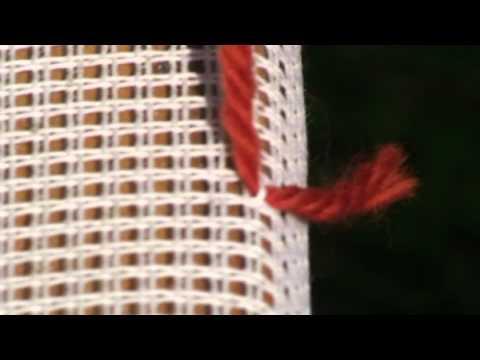 Tutorial – Teppichknuepfen – Ghiordesknoten