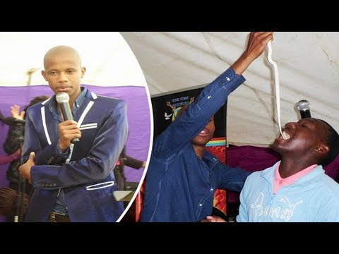 Police Arrested South African Pastor who Tests Worshippers Faith with Snakes