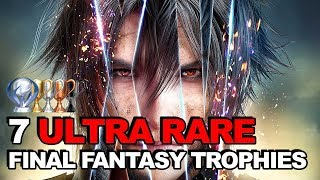 Video 7 Ultra Rare Trophies We'll Never Unlock (Final Fantasy Edition) MP3, 3GP, MP4, WEBM, AVI, FLV Oktober 2018