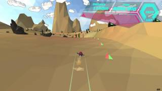 Welcome to AnTREXon GamingLet's show off your racing skills! Hurtle through randomized tracks (using procedural algorithm) in this fast-paced futuristic racing game. Try and retry to reach your best race time. Challenge your friends in a 10min time attack or face the world in the race of the day.