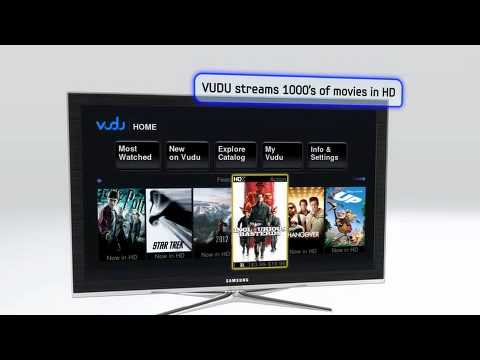 Samsung TV Apps and AllShare - 6000 Series
