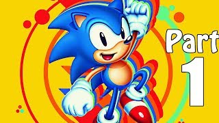 Sonic Mania (NO COMMENTARY) Gameplay Walkthrough Part 1- Sonic Mania on XBOX ONE. Sonic Mania Green Hill Zone, ...