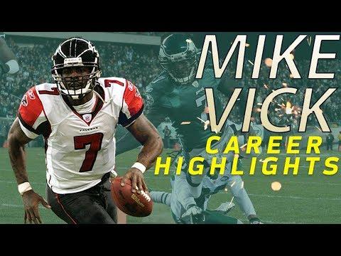 Michael Vick's UNREAL Career Highlights | NFL Legends Highlights (видео)