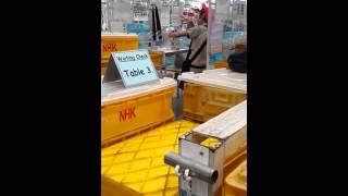 วัดพุน้อย เศษฐีเรือทอง เข้าทรงพนักงาน NHK เสาร์ 27 ก.ย. 57