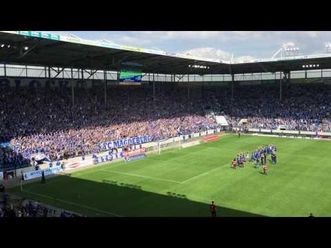 Video: Ansprache Block U beim Saisonabschluss FCM - Lotte 20.05.2017 (HD 2017)