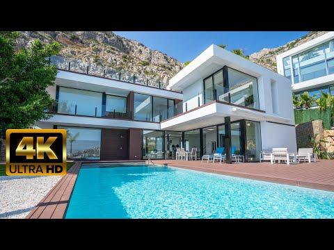 1970000€ Элитная недвижимость Испании/Люксовая вилла в стиле Хайтек Hi-Tech на Коста Бланка в Алтее