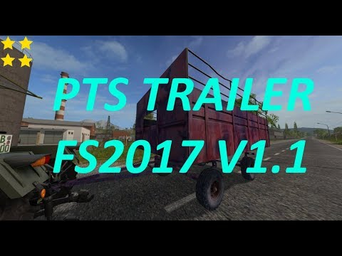PTS Trailer FS2017 v1.1