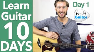 Video Guitar Lesson 1 - Absolute Beginner? Start Here! [Free 10 Day Starter Course] download in MP3, 3GP, MP4, WEBM, AVI, FLV January 2017